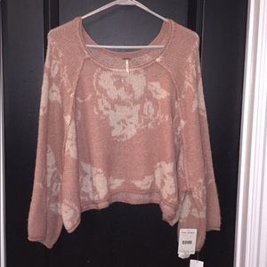 Free People Sweater, Sz M, Tags On